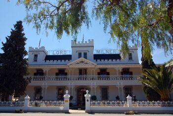 The Lord Milner at Matjiesfontein, Karoo, Western Cape