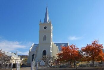 Dutch Reformed Church and Hall, Prince Albert, Karoo, Western Cape