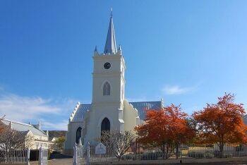 Dutch Reformed Church and Hall, Prince Albert, Karoo, Western Cape