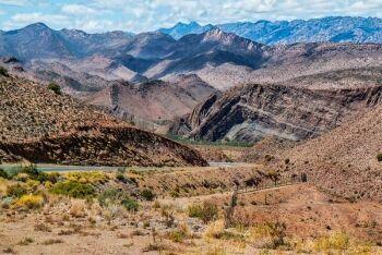 Mountain pass, Laingsburg, Karoo, Western Cape